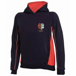Kids Red/Black Pull Over Hoodie