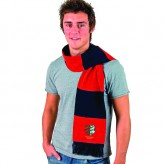 Black/Red Scarf