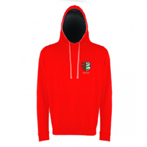 Red Hoodie with Black Inner